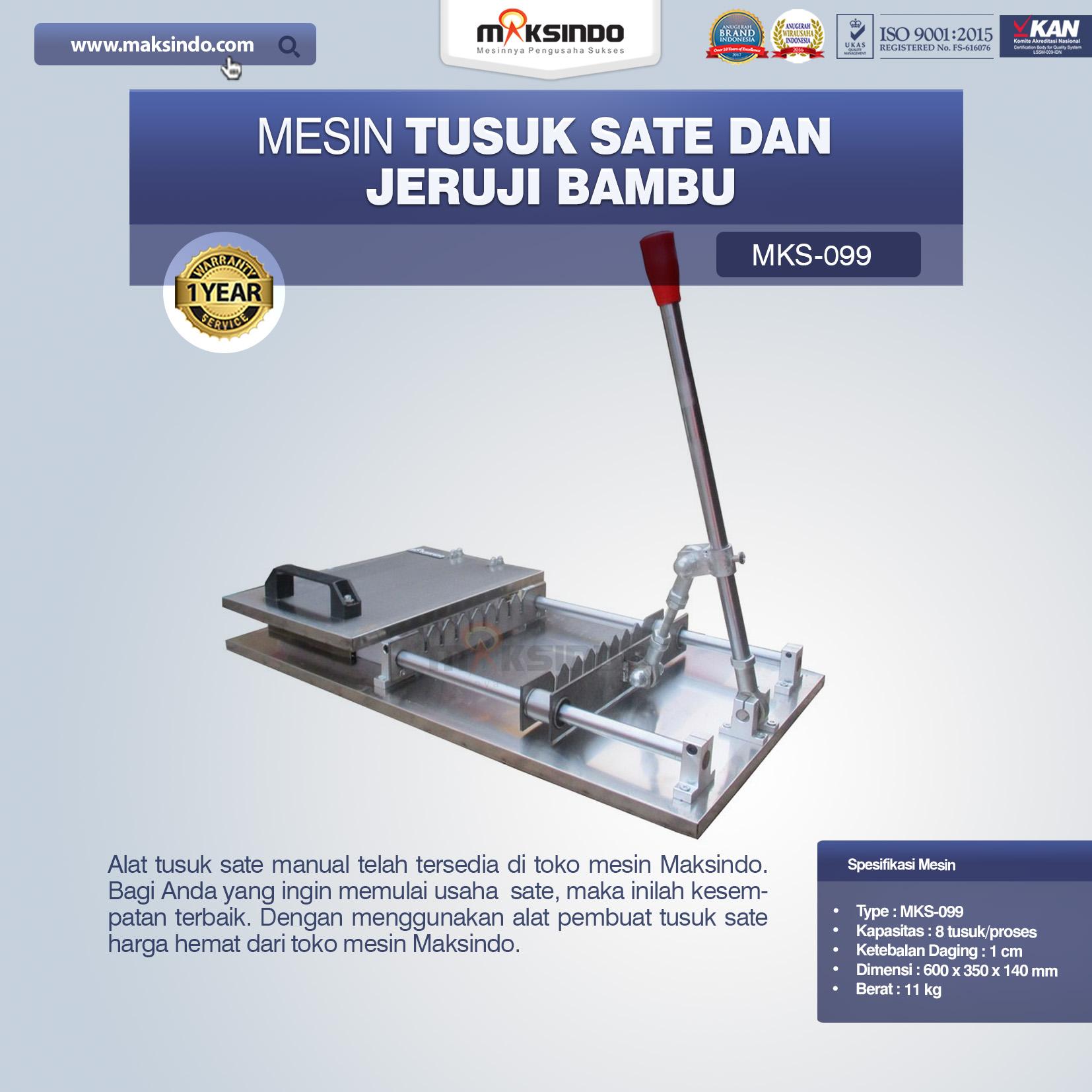 Jual Alat Tusuk Sate ManualMKS-099 di Banjarmasin