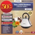 Jual Teko Listrik Stainless (Electrik Kettel) ARD-KT12 di Banjarmasin