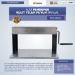 Jual Alat Pengupas Kulit Telur Puyuh Manual MKS-QEG15 di Banjarmasin