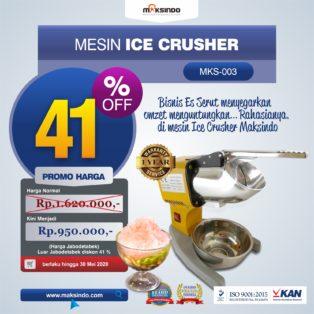 Jual Mesin Es Serut (Ice Crusher MKS-003) di Banjarmasin