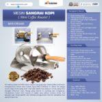 Jual Mesin Sangrai Kopi (Coffee Roaster) MKS-CRG400 di Banjarmasin