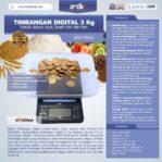 Jual Timbangan Digital 3 kg / Timbangan Kopi ARD-TBG3 di Banjarmasin