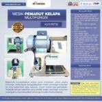 Jual Mesin Pemarut Kelapa Multifungsi AGR-PRT30 di Banjarmasin