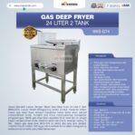 Jual Gas Deep Fryer 24 Liter 2 Tank (G74) di Banjarmasin