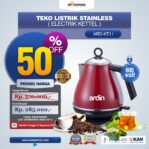 Jual Teko Listrik Stainless (Electrik Kettel) ARD-KT11 di Banjarmasin