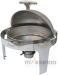 Jual Chafing Dish Bentuk Bulat (Round Roll) 6 Liter di Banjarmasin