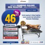 Jual Mesin BBQ Roaster (GRILLO-LMB22) di Banjarmasin