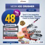 Jual Mesin Es Serut (Ice Crusher- MKS002) di Banjarmasin
