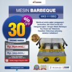 Jual Mesin Pemanggang Sate – BBQ 2 Tungku (Gas) di Banjarmasin
