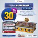 Jual Mesin Pemanggang Sate – BBQ 4 Tungku (Gas) di Banjarmasin