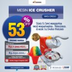 Jual Mesin Ice Crusher MKS-CRS30 Di Banjarmasin