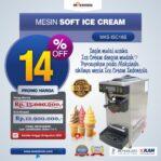 Jual Mesin Soft Ice Cream ISC-16S di Banjarmasin
