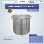 Jual Panci Masak Dan Stock Pot MKS-PP71 di Banjarmasin
