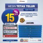 Jual Mesin Penetas Telur AGR-TT720 Di Banjarmasin