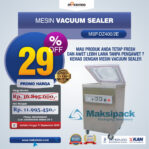 Jual Mesin Vacuum Sealer (MSP-DZ400/2E) di Banjarmasin