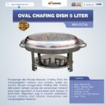 Jual Oval Chafing Dish 5 Liter di Banjarmasin