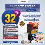 Jual Mesin Cup Sealer Manual (CPS-818) di Banjarmasin