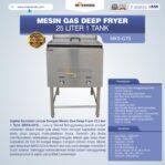 Jual Gas Deep Fryer 25 Liter 1 Tank (G75) di Banjarmasin