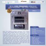Jual Mesin Oven Pengering Serbaguna (Stainless – Gas) di Banjarmasin