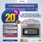 Jual Vacuum Sealer Double Seal DZ400T/2CB di Banjarmasin