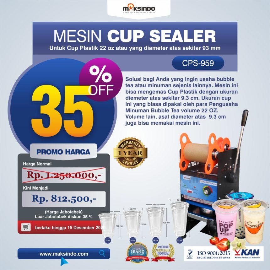 Jual Mesin Cup Sealer CPS-959 di Banjarmasin