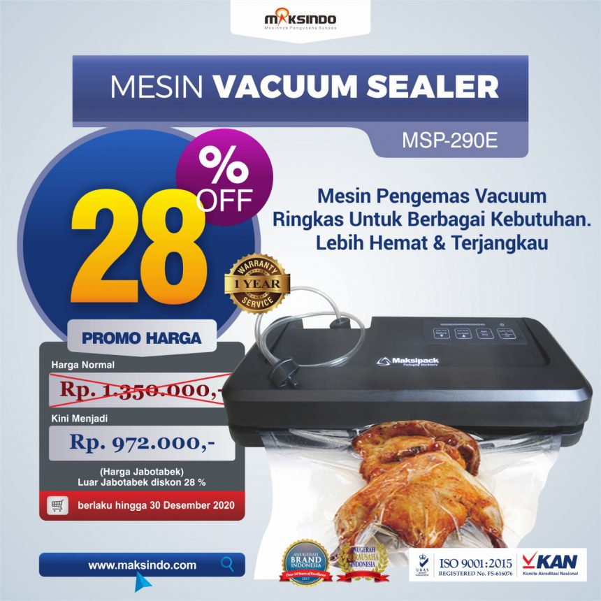Mesin Mesin Vacuum Sealer MSP-290E di Banjarmasin