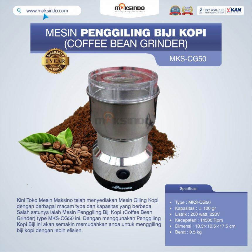 Jual Penggiling Biji Kopi (Coffee Bean Grinder) MKS-CG50 di Banjarmasin