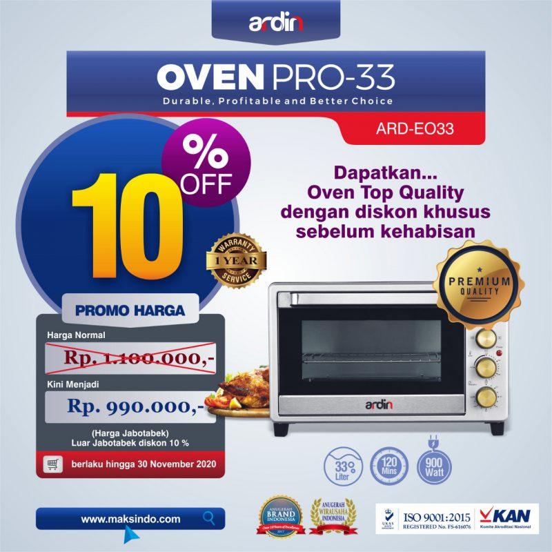 Jual Oven Listrik (Oven Pro-33) di Banjarmasin