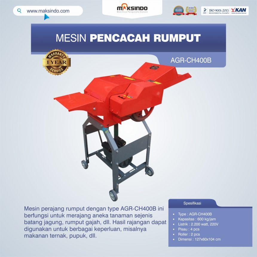 Jual Mesin Pencacah RumputAGR-CH400B di Banjarmasin