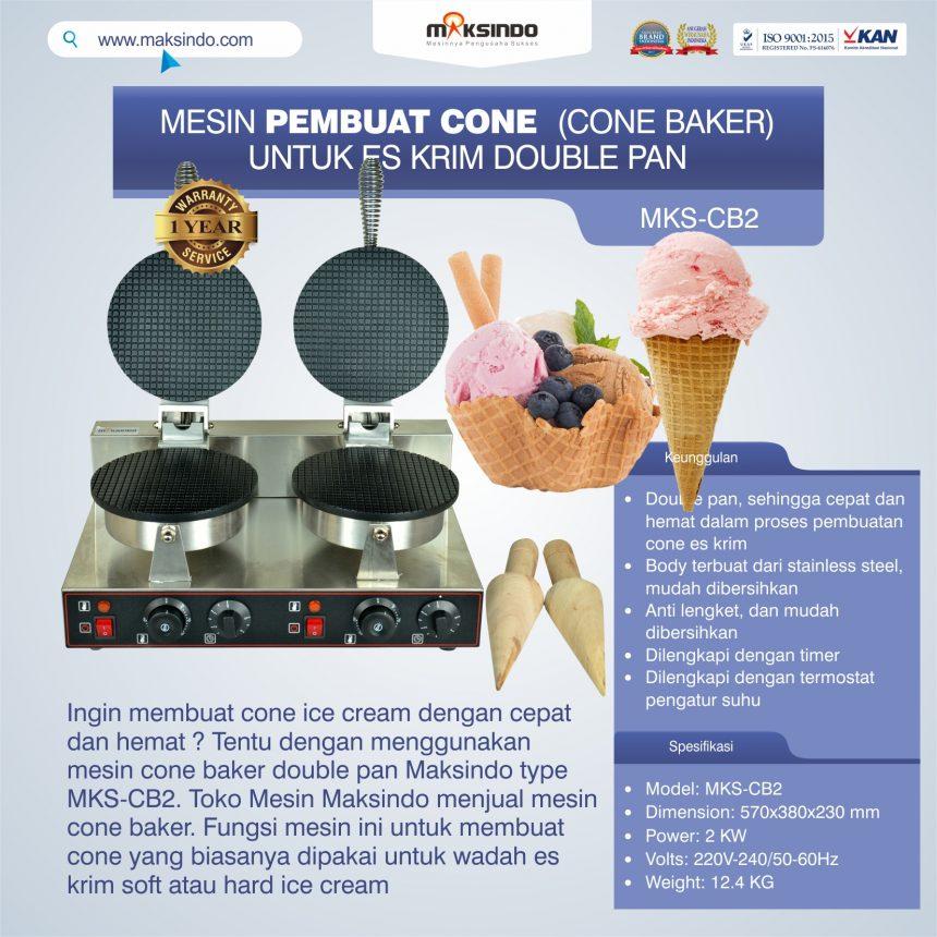 Jual Pembuat Cone Ice Cream (CB2) di Banjarmasin