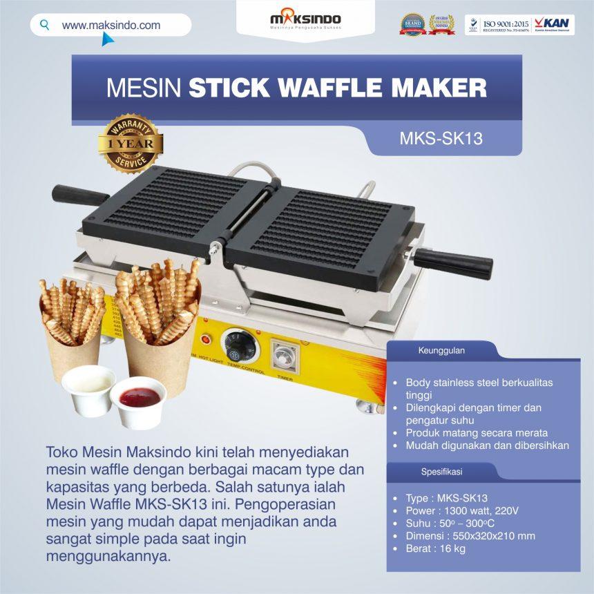 Jual Mesin Stick Waffle Maker MKS-SK13 di Banjarmasin