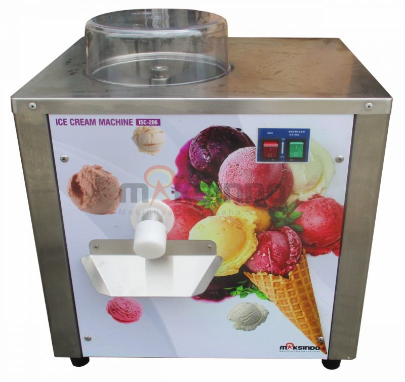 Jual Mesin Gelato Hard Ice Cream ISC-206 di Banjarmasin
