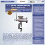 Jual Alat Giling Daging Manual (Iron) di Banjarmasin